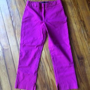 Fuschia Guess Collection cropped pants size 4